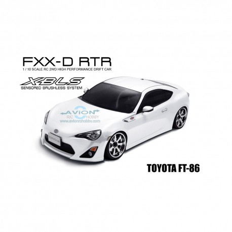 MST FXX-D 1/10 2WD RTR Drift Car 2.4G (Brushless) TOYOTA FT-86 White