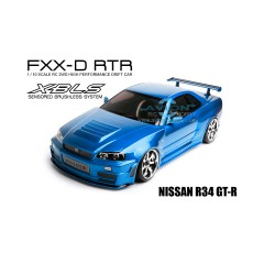 MST FXX-D 1/10 2WD RTR Drift Car 2.4G (Brushless) NISSAN R34 GT-R