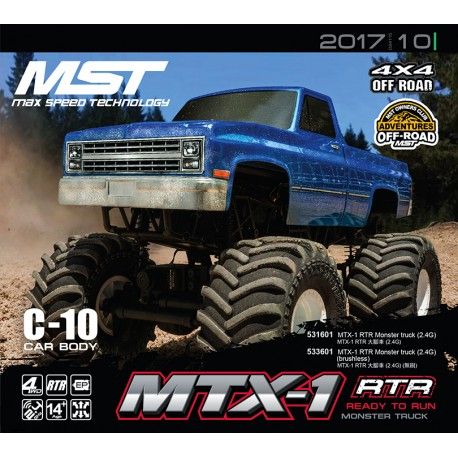 MTX-1 RTR Monster truck (2.4G) (brushless)