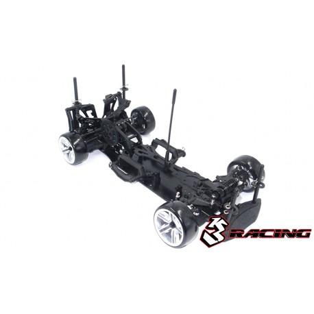KIT-D4RWDS/BK 3RACING Sakura D4 1/10 Drift Car(RWD) - Sport Black edition