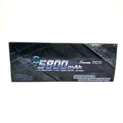 Gens ace  7.4V  2S1P 5800mAh 100C HardCase