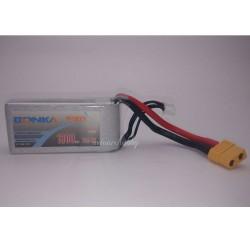 Lipo Baterai 11.1V 1300mAh 75C (3S1P) - Bonka Power