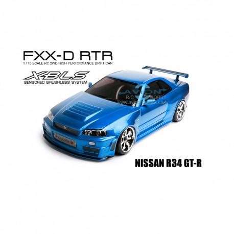 MST FXX-D 1/10 2WD RTR Drift Car 2.4G (Brushless) NISSAN R34 GT-R