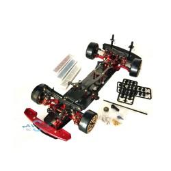 Team Power RC Car Drift DRR-01 Snac D1 KIT (Red / Black)