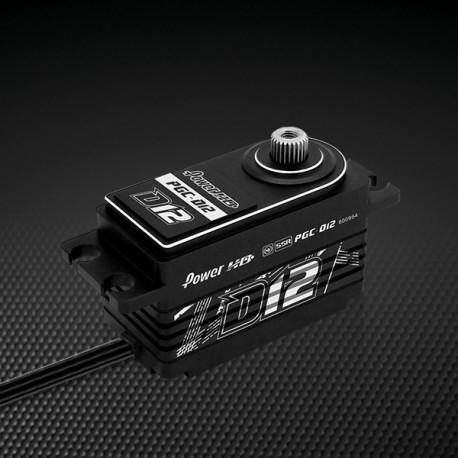 Power HD - D12 Low Profile HV Coreless Digital Servo SSR mode compatible